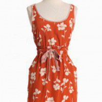 Tuscan Sun Floral Dress In Apricot | Modern Vintage New Arrivals