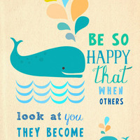 Be so happy Art Print by Elisandra  | Society6