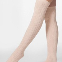 Ribbed Modal Over-the-Knee Sock | Knee-High Tights | Accessories&#x27; Stockings &amp; Hosiery | American Apparel