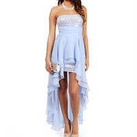 Tyson-Dusty Blue Prom Dress
