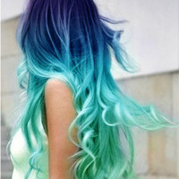 Salon Grade Temporary Hair Chalk, Pastel - Light Turquoise