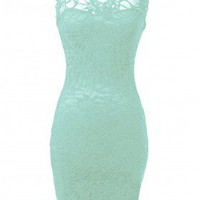 Lace Bodycon Dress - 29 and Under