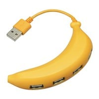 Banana Type 4Port USB Hub  | GeekStuff4U: From Japan to your Doorstep