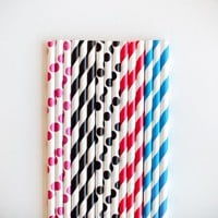 Poketo Eco Paper Drinking Straws