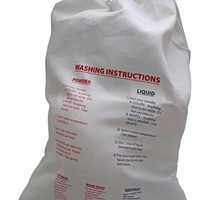 Laundry Bag with Printed Instructions - Graduating High School Senior gift for dorm life living in a dorm college dorm necessities