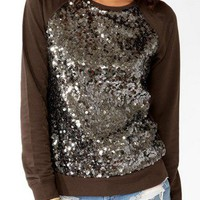 Sequined Raglan Pullover | FOREVER 21 - 2027705040