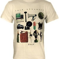 Twin Atlantic Album Men's Natural T-Shirt - Buy Online at Grindstore.com