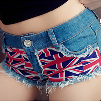 Blue British Flag Patchw...