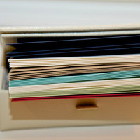 Pick an Envelope Color - includes envelope adhering service