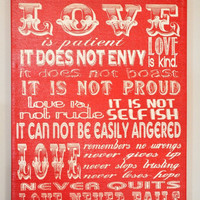 FLINGintoSPRING Sale LOVE Is patient Love is by everlastingdoodle