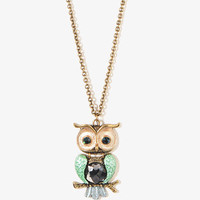 Owl Necklace | FOREVER 21 - 1002928359