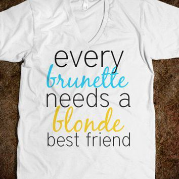 Every brunette - Happy Friday