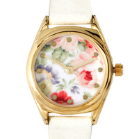 ASOS Vintage Floral Watch
