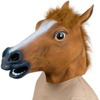 Horse Head Mask - Archie McPhee & Co.