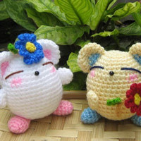 Buy Flowers For You pattern - AmigurumiPatterns.net