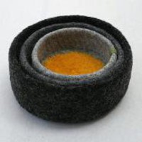 Felted Wool Nesting Bowl - Large