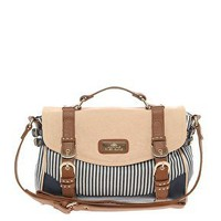 River Island | River Island Stripe Glam Satchel at ASOS