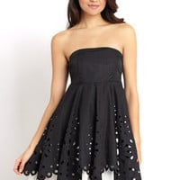 ideeli | RYU Strapless Cutout Dress