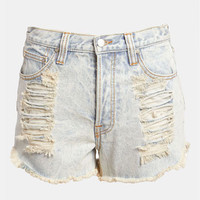 MINKPINK 'Slasher Flick' Acid Wash Shorts | Nordstrom