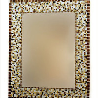 Large Mosaic Mirror, Wall Art