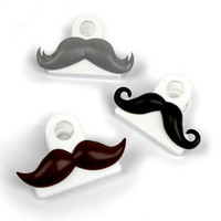 DCI: Moustache Bag Clips