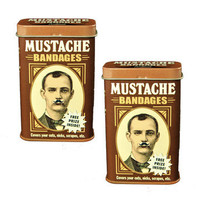 Accoutrements: Mustache Bandages 2 Pack