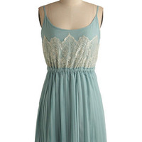 Frost and Foremost Dress | Mod Retro Vintage Solid Dresses | ModCloth.com