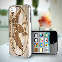 DP 0675 Wood Logo Duck Dynasty Duck Commander - Custom Design iPhone 4