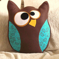 Owl Plush PDF Hooter the Owl Pillow PDF Tutorial and by bedbuggs