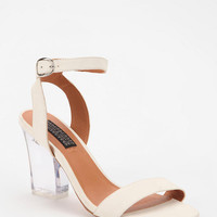Deena &amp; Ozzy Lucite Heeled Sandal
