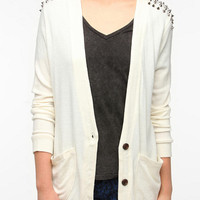 Reverse Studded Cardigan
