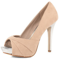 Apricot twist peep toe - Heels - Shoes - Dorothy Perkins