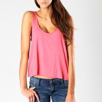 Cora Scallop Edge Jersey Vest
