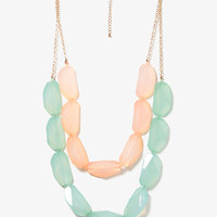 Vibrant Contrast Necklace | FOREVER21 - 1013820642