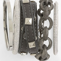 Cara Accessories Wrap Bracelet &amp; Tasha Link Bracelet | Nordstrom