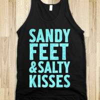 Sandy Feet and Salty Kisses - Quotes and Sayings