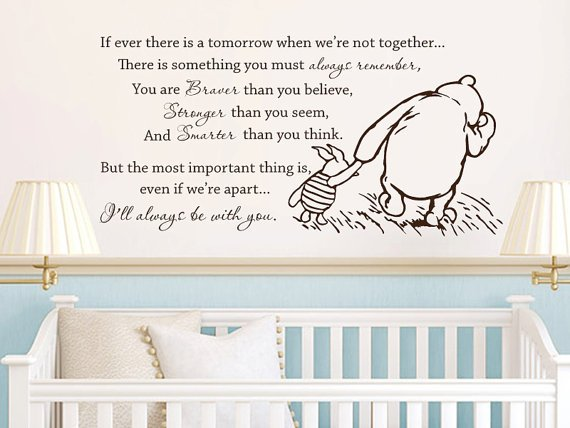 Classic winnie the pooh if ever there is from for Classic pooh wall mural