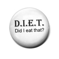 Did I eat that Button by tBRWD by tBRWD on Etsy