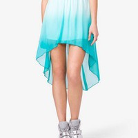 Ombr High-Low Skirt | FOREVER 21 - 2030282260