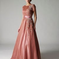 Buy Pink Chiffon Grecian Dresses From VERB