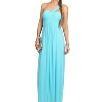 Merlyne-Mint Long Prom Dress