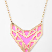 Neon Geo Necklace