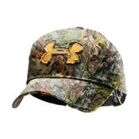 Men's Camo Alpine Adjustable Cap Headwear by Under Armour