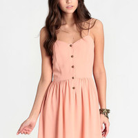 Queensland Buttoned Dress - $39.00 : ThreadSence, Women's Indie & Bohemian Clothing, Dresses, & Accessories