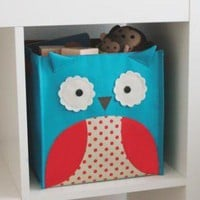 Zoo storage bin owl - Awesome Kids