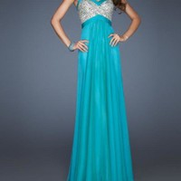 Gorgeous A-Line Peaches Evening dresses/prom dresses from sweetheart dresses