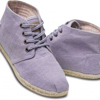 Lilac Wisett Women&#x27;s Desert Boots | TOMS.com