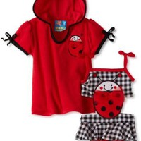 Amazon.com: Baby Bunz-Girls Newborn Ladybug Connector Info: Clothing
