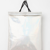 Holographic Roll Backpack