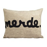 Merde Pillow - New Arrivals